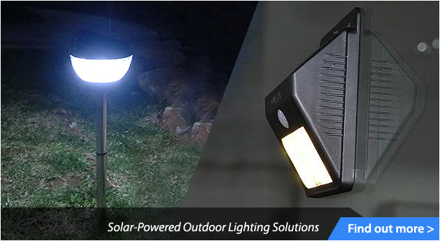 Solar-Powered Outdoor Lighting