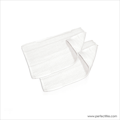 Set of 2 Cloths with Velcro for Parquet Function - Set of 2 Cloths with Velcro for Parquet Function