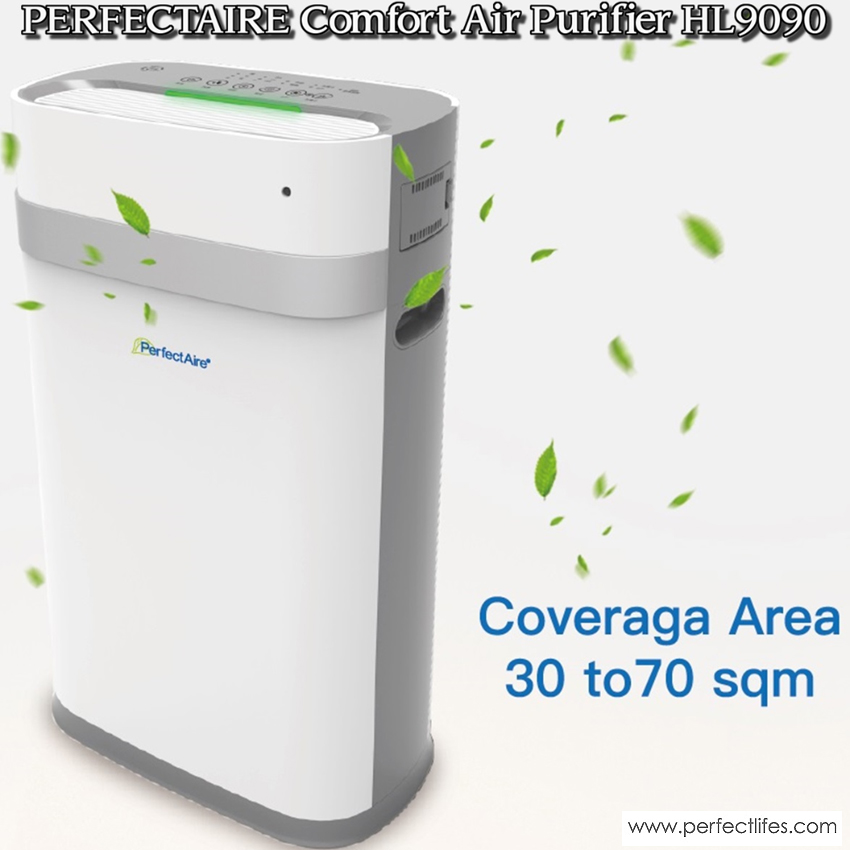HL9090 - PerfectAire High Performance Composite Filter Air Purifier-HL9090 COMFORT with Latest Intelligence Automatic Filtering Module
