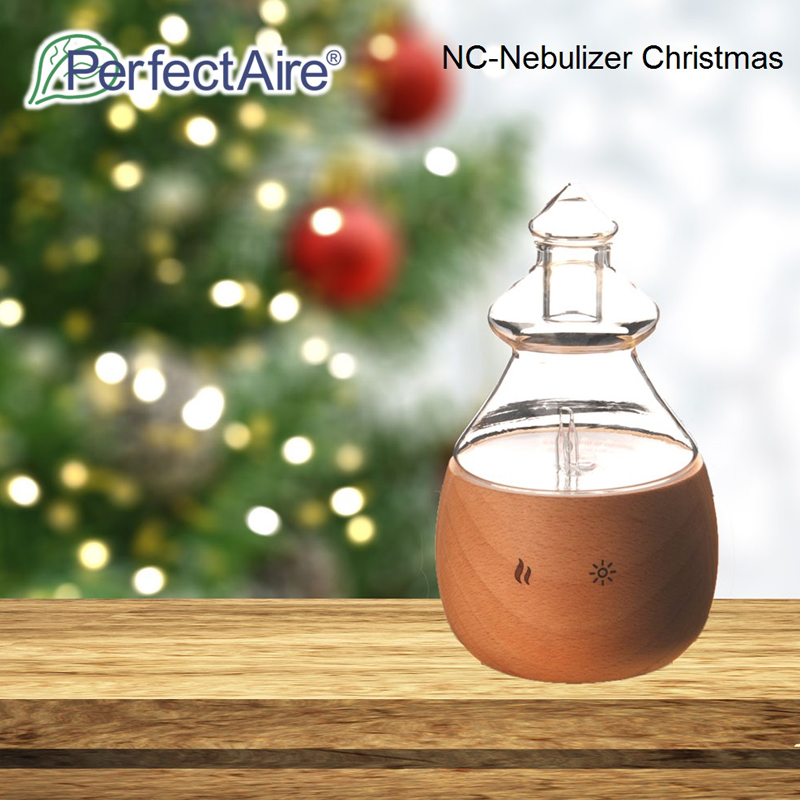 Nebulizing NC - PERFECTAIRE Aroma Essential Oil Nebulizing Diffuser for Aromatherapy