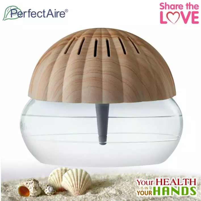 PS188I - PERFECTAIRE Ionizer Air Purifier Seashell PS188I