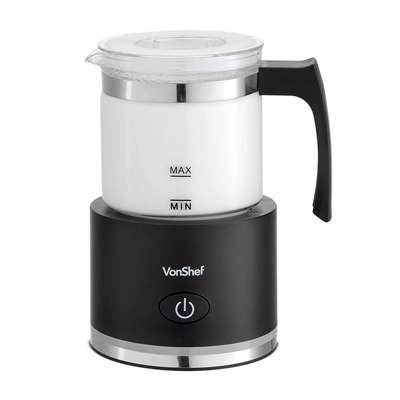 VSMF001 - VonShef Automatic Milk Frother Machine (Glass)